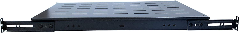 RAISING ELECTRONICS Fixed Rack Server Shelf 1U-for 800MM Deep Cabinets/Racks.