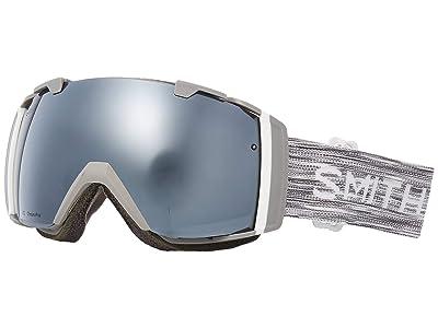 Smith Optics I/O Goggle (Cloud Grey/Chromapop Sun Platinum Mirror/Chromapop Storm Rose Fl) Goggles