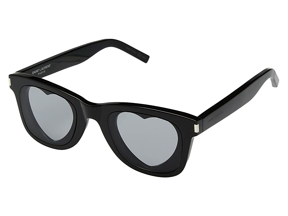 Saint Laurent SL 51 Heart (Black) Fashion Sunglasses