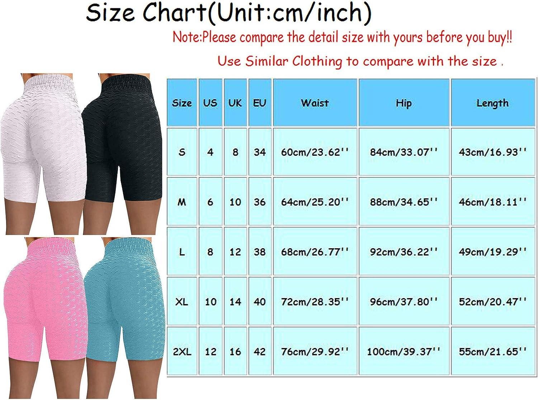 2 Pack TIK Tok Leggings Shorts,Women Gym Shorts Butt Lifting Ruched Yoga Booty Running Short Tummy Control Leggings