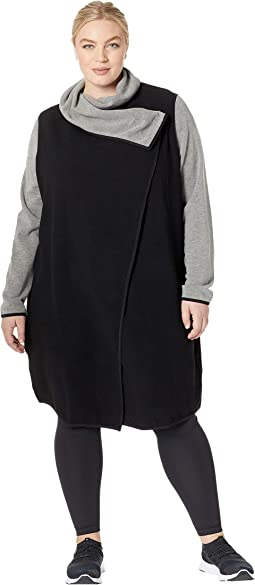 Plus Size Incognito Wrap Sweatshirt
