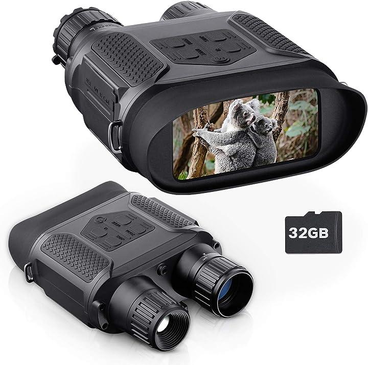 Binocolo visione notturna catturano immagini e video in un ambiente totalmente nero bnise LK-22X
