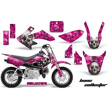 Senge Graphics Kit Compatible with Honda 2004-2012 CRF 50 Fly Racing Black Graphics kit