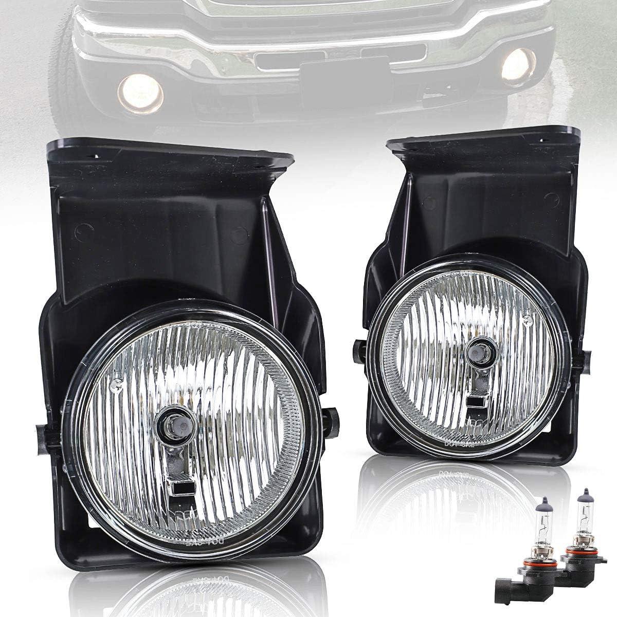 高額売筋 YUANZHENG Fog Lights Replacement for 3500 ご注文で当日配送 Sierra 2500 1500 GMC
