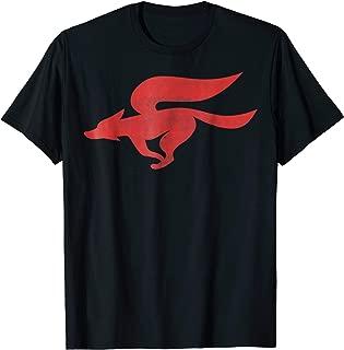 Nintendo Star Fox Classic Red Logo Graphic T-Shirt