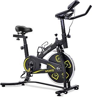 Bicicletas Estáticas de Spinning Ajustables Bicicleta Fitness Pantalla LCD, Bicicleta de Ejercicios Aeróbicos Sport para I...