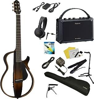 【Mobile AC付き フルセット!!】 YAMAHA / SLG200S TBS(タバコブラウンサンバースト) 【YAMAHAギター×Rolandアンプ】 ヤマハ サイレントギター アコースティックギター スチール弦仕様