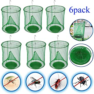 ALOVEWE Ranch Fly Trap Flay Catcher for Outdoor, The Most Effective Trap Ever Made Fishing Apparatus with Food Bait Flay Catcher Family Farms, Park, Restaurants