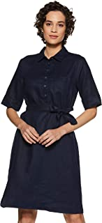 United Colors of Benetton Linen a-line Dress