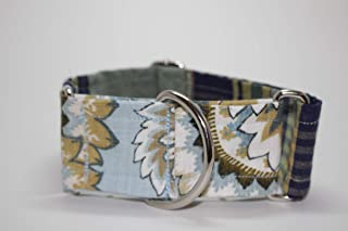 Floral/Plaid Martingale Collar