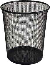 YbauShop Rubbish Bin Circular Mesh Bin - Waste Paper Basket Mesh Waste Bin Trash Can Mesh Waste Paper Bin Recycling Box Me...