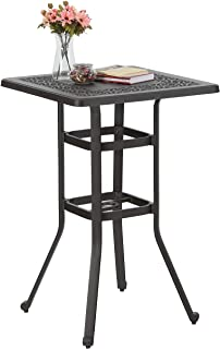 Best 42 inch bar height patio table Reviews