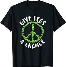 Give Peas a Chance Vegan Vegetarian Shirt