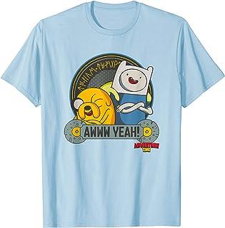 Cartoon Network Adventure Time Awww Yeah T-Shirt