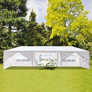 Best white gazebo with sides Reviews