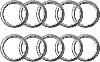 M16 Oil Drain Plug Gaskets Crush Washers Seals Rings for Subaru Outback Legacy Impreza Forester BRZ XV Crosstrek, Replacement for the Part # 803916010, Used for Oil Change, 10 Pack