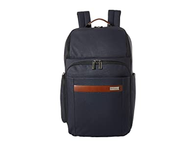 Briggs & Riley Kinzie Street Large Backpack (Navy) Backpack Bags