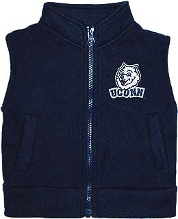 Creative Knitwear University of Connecticut Huskies Baby and Toddler Polar Fleece Vest