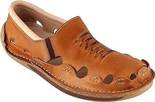 tZaro Genuine Leather Light Tan Sandal - Transformer, DMRONTAN23