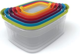JOSEPH JOSEPH 81005 Nest Storgae 6pc Set, Multicolour
