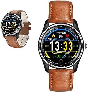 WEINANA Reloj Inteligente Presión Arterial Monitor De Frecuencia Cardíaca IP68 Impermeable Modo Deportivo Múltiple Reloj Inteligente Reloj Inteligente para Hombres Y Mujeres(Color:UN)