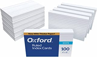 Oxford Ruled Index Cards, 4