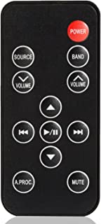 Remote Control For ALPINE RUE-4202 CDEHD138BT CDEHD148BT CDEHD149BT CDESXM145BT CDEW235BT CDM7829 CDM7857 CDM7861CDE-122 INES920HD INE-S920HD INE-W927HD INEW927HD INEW940 INE-W940 MDM7741 With Battery