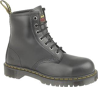 DR MARTENS Black 7B10 7 Eyelet Leather Steel Toecap Safety Boot 8