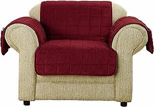 غطاء مقعد من شورفيت، ديب بيل فيلفيت - عنابي (SF43702)