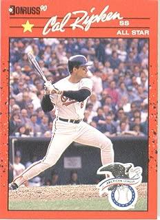 1990 Donruss # 676A Cal Ripken Jr. AS Baltimore Orioles Baseball Card