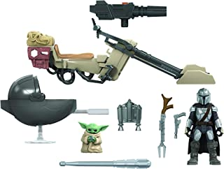 Star Wars Mission Fleet Expedition Class The Mandalorian The Child Battle for the Bounty 2.5-Inch-Scale Figures and Vehicl...