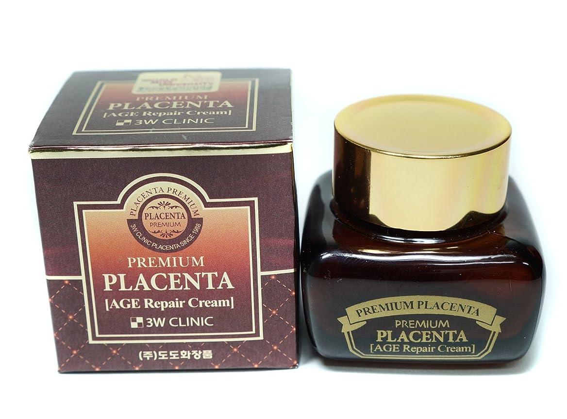 スラム検出餌3Wクリニック Premium Placenta Intensive Cream 50ml/1.7oz並行輸入品