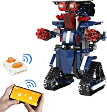 BBdis STEM Toys for Kids, Remote Robot & APP Control Robots Programmable and Voice Control Learning & Education Toys Scien...