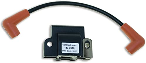 CDI Electronics 183-2508 Johnson/Evinrude Ignition Coil-2 Tower, 1/2/3/4/6/8 Cyl (1985-2005)