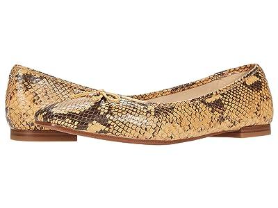 Sam Edelman Jillie (Wheat Multi Exotic Snake Print Leather) Women