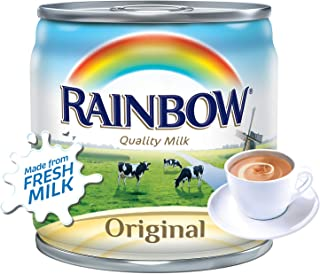 Rainbow Evaporated Milk With Vitamin D, 170 gm