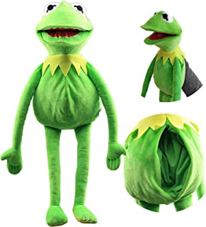 MNBGHJ Frog Hand Puppet, Muppets Show Plush Toy, The Muppets Movie Soft Stuffed Plush Toy 24 Inches Children's Gifts Green
