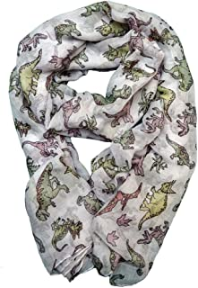 Dinosaur Scarf Gift for Women and Girls