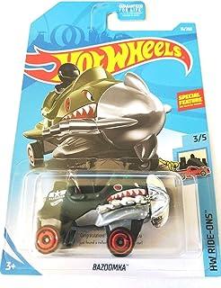 Hot Wheels 2019 HW Ride-Ons Bazoomka (Propellor Plane Car) 15/250, Dark Green Treasure Hunt