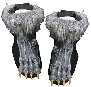 Men's Silver Werewolf Shoe Covers