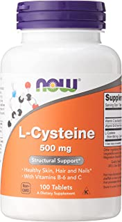 Now Foods L-Cysteine, 100 Tabs 500 mg