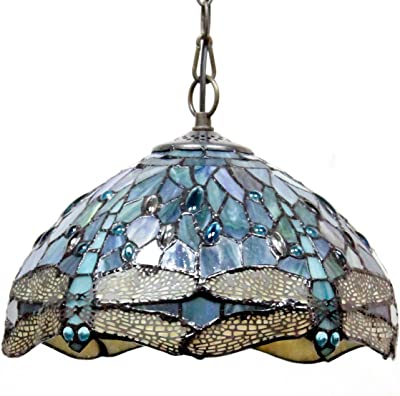 Honest Blue Hanging Oval Glass Mid Century Modern Ceiling Light Deco Pendant Fixture A Complete Range Of Specifications Lamps, Lighting