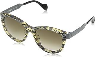 240e34868c Fendi SLIKY FF 0181/S CC VDW Gafas de sol, Gris (Pttrnoch Gry