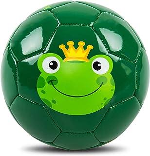 INPODAK Soccer Ball for Toddler, Cartoon Ball, Baby Soccer Ball, Soccer Ball for Kids with Pump