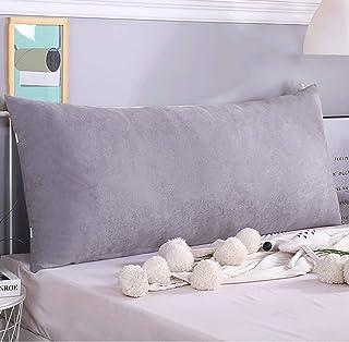 Almohada Almohada Lectura Cojín Cuña Respaldo del lado de la cama reforzador grande tatami respaldo perla algodón relleno almohada cama doble cama cintura almohada removible lectura almohada casual le