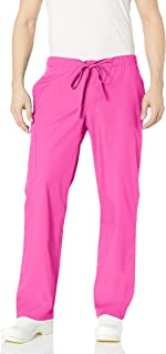 Orange Standard Men's Huntington Unisex Scrub Pants with Drawstring Waist and 4 Pockets