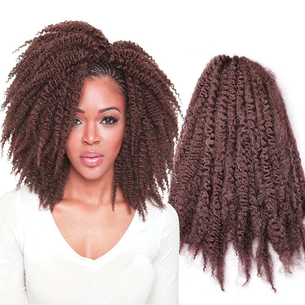 Kinky Curly Wig Natural Black Short Afro Braided famous Super popular specialty store Hand Twist
