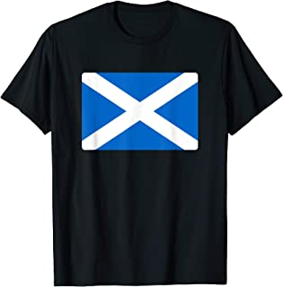Scotland Flag Scottish Men Women Kids Souvenir Gift T-Shirt