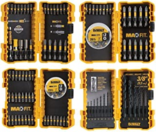 DEWALT Maxfit Screwdriving and Drill Bit Set (140-Piece)
