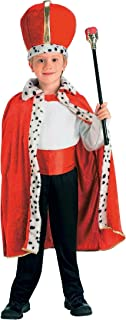 Other King Robe & Crown Child Costume Red
